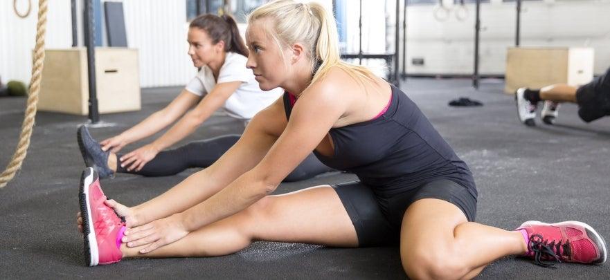 Gym Stretching Image
